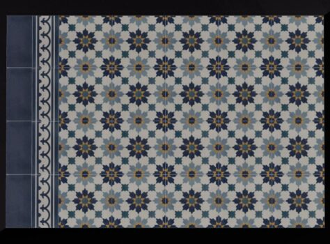 Portugese tegels blauw azule 01 ook wel genaamd