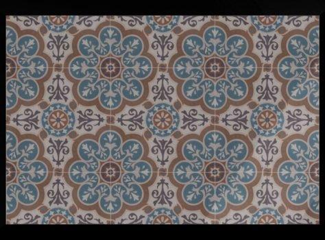 Designtegels Utrecht ROZA Xl1 20x20