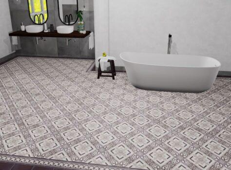 Portugese tegels badkamer serie TOULOUSE 20x20