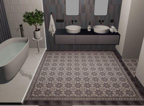 Granito tegels badkamer