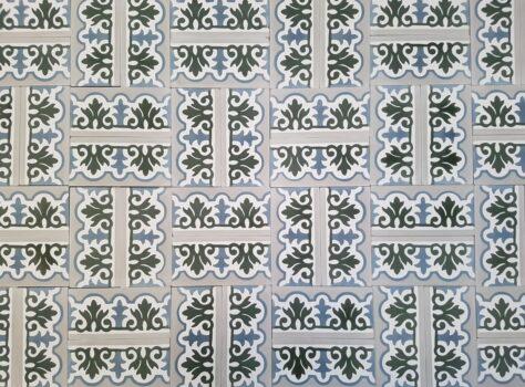 mix van Portugese tegels 7x14 cm