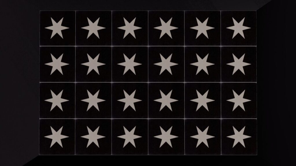 designtegels cementtegel BRIGHT STAR