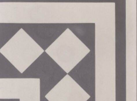 Portugeese tegels Corner 21-F26 groen grijs 20x20 cm