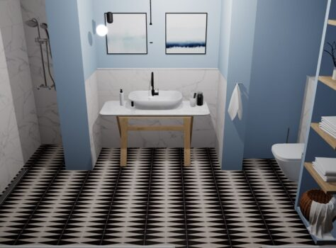 designtegels en patroontegels TRIC TRAC 20x20