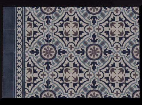 Franse patroontegel PERPIGNAN 20x20