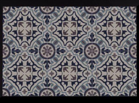 Franse patroontegels PERPIGNAN 20x20 cm