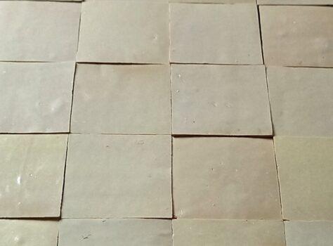 Zelliges tegels Blanc de Blancs