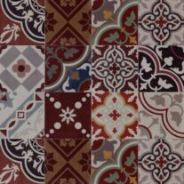 020 PATCH KIND OF RED